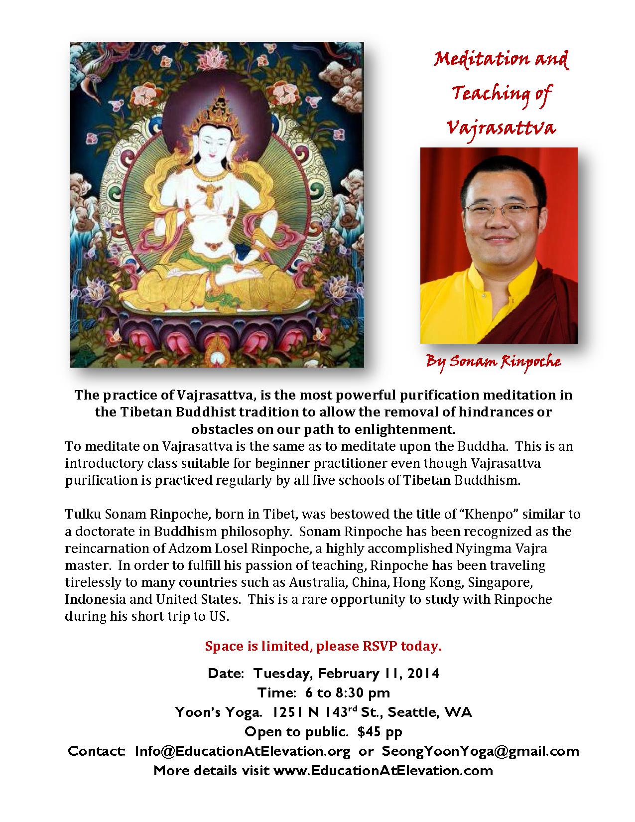 Vajrasattva teaching by Rinpoche Final